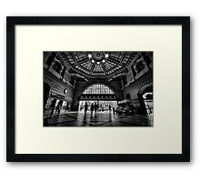 Flinders Street Station Framed Print