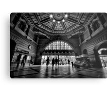 Flinders Street Station Metal Print