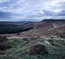 Hathersage Moor, Peak District by Stephen Taylor, LRPS