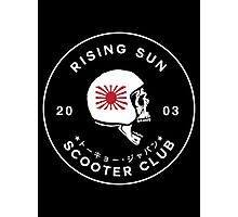 Rising Sun Scooter Club Tokyo Photographic Print