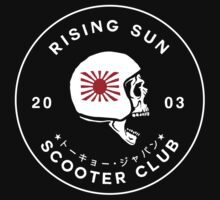 Rising Sun Scooter Club Tokyo by JamesShannon