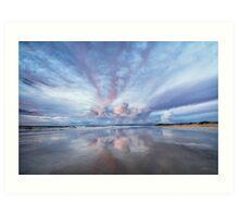 Sunset Blush Art Print