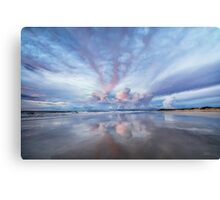 Sunset Blush Canvas Print