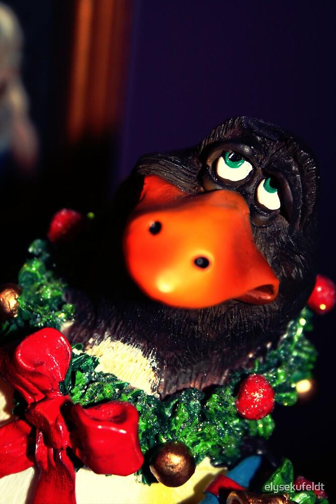 Holiday Penguin by elysekufeldt