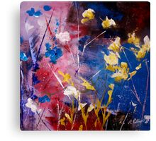 The Season Of Singing Has Come Canvas Print