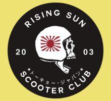 Rising Sun Scooter Club Tokyo [Sticker Version] Baby Tee