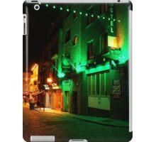 Red & Green, Temple Bar, Dublin, Ireland iPad Case/Skin