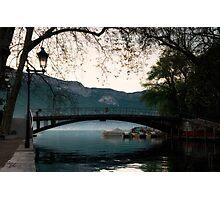Lac Annecy Photographic Print