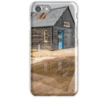 Boat House Reflection iPhone Case/Skin