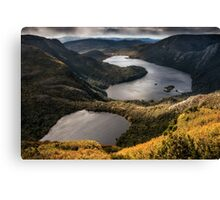The Lakes at the Top of the World Canvas Print
