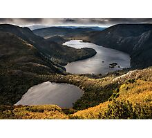 The Lakes at the Top of the World Photographic Print