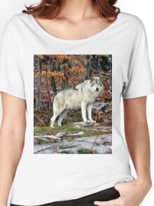 Wildlife Serenity. Women's Relaxed Fit T-Shirt