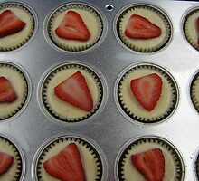 Strawberry Cupcakes by Debbi Tannock