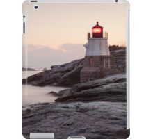 Castle Hill Lighthouse at Sunrise iPad Case/Skin