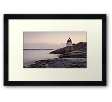 Castle Hill Lighthouse at Sunrise Framed Print
