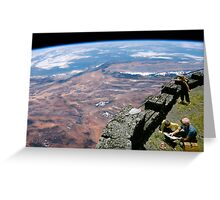 DON'T LOOK DOWN. Greeting Card