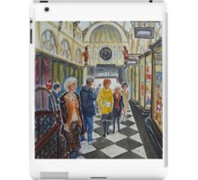 Royal Arcade, Melbourne (2) iPad Case/Skin