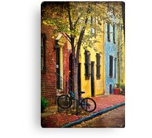 Autumn In Philly Metal Print