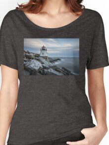 Castle Hill Lighthouse at Sunset Women's Relaxed Fit T-Shirt