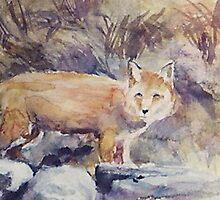 THE FOX(C1992) by Paul Romanowski