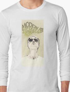 Modern art portrait Long Sleeve T-Shirt