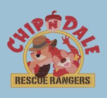 Chip N Dale: Rescue Rangers! Kids Tee