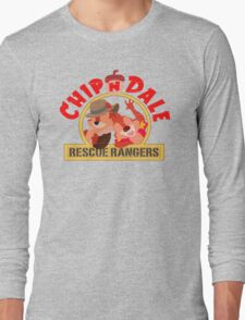 Chip N Dale: Rescue Rangers! Long Sleeve T-Shirt