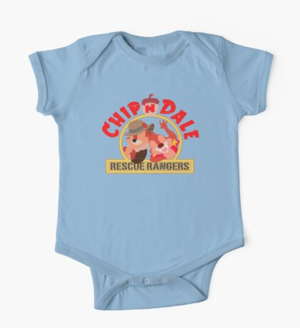Chip N Dale: Rescue Rangers! One Piece - Short Sleeve