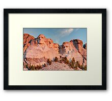 Mount Rushmore National Memorial Framed Print