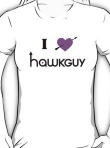 I heart Hawkguy (purple variant) T-Shirt