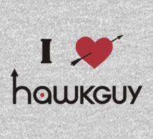 I heart Hawkguy Kids Clothes