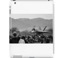 Fighter jet power  iPad Case/Skin