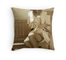 The Station II Throw Pillow