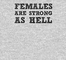Strong Females Womens Fitted T-Shirt