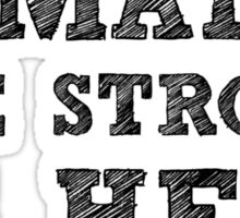 Strong Females Sticker