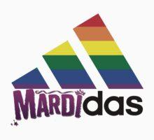 Adidas mardi gras by Zach Muldoon