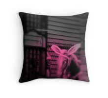 Baby Girl Dreams Throw Pillow