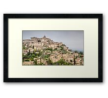 Ancient French Village Framed Print