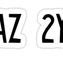 KAZ 2Y5 Sticker