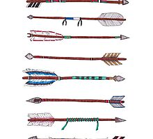 Eight Native Arrows by Laura Maxwell