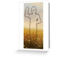 C3PO SUNRISE Greeting Card