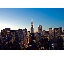 Manhattan Sunset Photographic Print