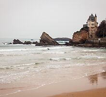 Mysterious Mansion on the Beach by Joshua McDonough Photography
