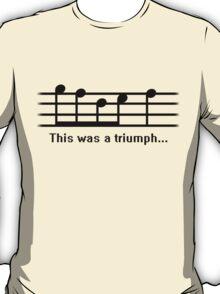 This was a Triumph T-Shirt
