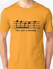 This was a Triumph Unisex T-Shirt
