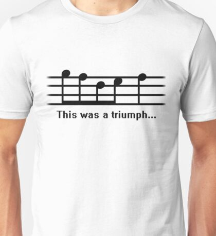 This was a Triumph Unisex T-Shirt