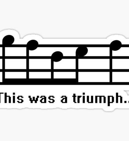 This was a Triumph Sticker