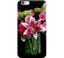 Stargazer Lily Bouquet iPhone Case/Skin