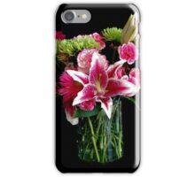 Stargazer Lily Bouquet iPhone Case/Skin