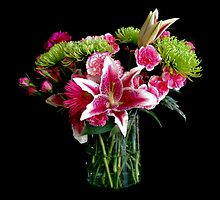Stargazer Lily Bouquet by Catherine Sherman